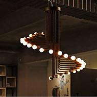 5W Vintage / Kontor / Bedrift / Rustikk LED / Pære Inkludert eloksert Metall Lysekroner Stue / Soverom / Spisestue