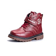 Boys' Shoes Outdoor / Casual Synthetic Boots Blue / Brown / Red