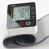 ck®ome automático de pulso digital pressão arterial manguito metros monitor de pulso pulso esfigmomanômetro lcd toque