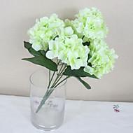 Polyester Hortenzie Umělé květiny