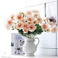 Polyester Pivoňky Umělé květiny