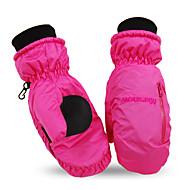 Women Fashion Winter Warm Gloves Waterproof Snow Gloves Outdoor Mittens Motorcycle Cycling Ski Snowboarding Gloves 806