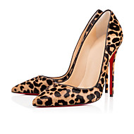 2016 new Womens Shoes Sexy Leopard high heel stiletto shoes.