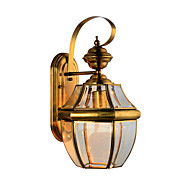 Vintage Outdoor Wall light European Style Traditional Unique Decorative Copper Wall Sconces for Hotels or Home