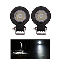2PCS CREE 10W Offroad LED Work Light Flood Motorcycle Headlight 12V 24V Truck Boat SUVATV 4WD Led Driving Light Fog Lamp