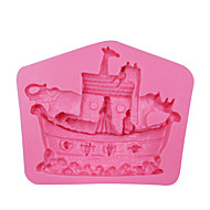 Animal Noah's Ark Shaped Silicone Mold Cake Decorating Tools , Cookware Non-Stick Cake Mould SM-063