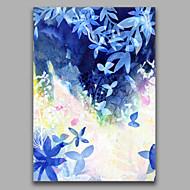 Ručně malované AbstraktníStyl Jeden panel Plátno Hang-malované olejomalba For Home dekorace