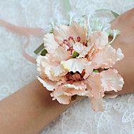 Svatební kytice bez formy Pivoňky Živůtek na zápěstí Svatba / Párty / večerní akce Polyester