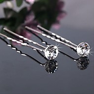 Gorgeous Crystal/Alloy Hairpins (Set of 3)