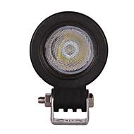 2PCS 크리어 10w 오프로드 주도 작업 빛 홍수 오토바이 헤드 라이트 12V의 24V 트럭 보트 suvatv 4WD 빛 안개 램프를 구동 주도