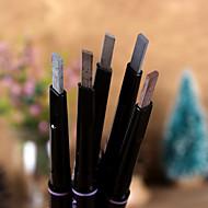 גבות עפרון יבש מחזיק לאורך זמן / עמיד במים / טבעי צבעים מרובים עיניים 1 1 Others