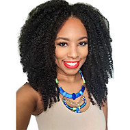 Afro Kinky 2x4 U Part Wig Unprocessed Brazilian Kinky Curly Middle Part Upart Wig For Black Women U Part Kinky Afro Wig