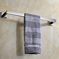 Contemporary Mirror Polished Finish Stainless Steel Material Towel Bar