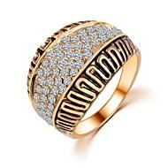 Prstenje Vjenčanje / Party / Dnevno / Kauzalni Jewelry Zircon Žene Klasično prstenje 1pc,6 / 7 / 8 / 9