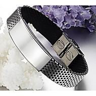 Light skinned titanium bracelet