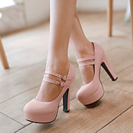 Women's Shoes  Heel Heels / Platform Heels Office & Career / Dress / Casual Black / Green / Pink / Purple