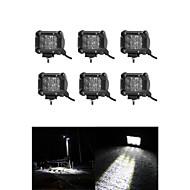 6x 30w led munka fénysáv offroad 12V 24V atv árvíz offroad teherautó 4x4 utv