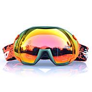 Basto cornice arancione occhiali da neve sci sensore verdi