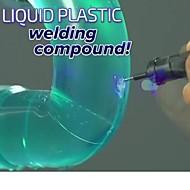 5 secondi fissano colla liquida strumenti di saldatura nastro adesivo universale liquido luce plastica coprono rimuovere penna di