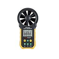 peakmeter ms6252a digital multifunções anemómetro / volume de ar / temperatur / umidade