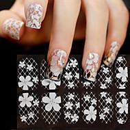 Cvijet / Sažetak / Vjenčanje-3D Nail Naljepnice / Ostale dekoracije- zaPrst-15*7.5-1kom. -Other