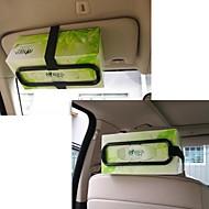 ziqiao Mode Auto Visier Tissue-Papier Kunststoff-Halter für Rücksitz