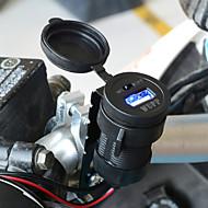 schwarz wasserdicht Motorrad USB-Ladegerät mit Schalter Handy Kfz-Ladegerät Netzadapter