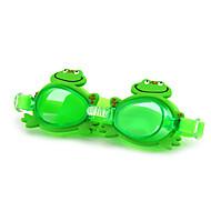 Óculos de Natação Anti-Nevoeiro Tamanho Ajustável Proteção UV Prova-de-Água Gel Silica PC Branco Verde Vermelho Rosa Roxo Transparentes