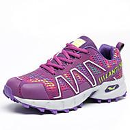 Women's Walking Shoes Leather / Tulle Pink / Purple