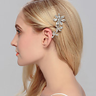 Women's Rhinestone / Brass Headpiece - Wedding / Special Occasion / Casual / Office & Career / Outdoor Hair Clip 1 Piece