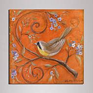Mini Size Canvas Print One Panel Framed art bird painting