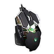 Ajazz Game Mouse 3200 DPI DPI Noviteit / Gaming / Multi-Touch / Programmeerbaar / Lichtgevend / 3D MuisWithUSB