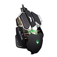 Ajazz Game Mouse 3200 DPI DPI חדשני / גיימינג / רב מגע / ניתן לתכנות / זורח / 3D עכברWithUSB