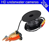 Fish Finder   Underwater Camera  20m Cable  CCD Color Camera Underwater Video Fishing Camera 3W LED