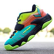לבנים-נעלי ספורט-דמוי פרווה טול-נוחות רצועת קרסול-שחור ירוק אדום שחור ואדום כחול ים-שטח יומיומי ספורט-עקב שטוח