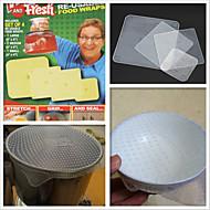 """spice """"n lžíce pečení&lze mýt v myčce silikonové pokličky, 4-pack"""