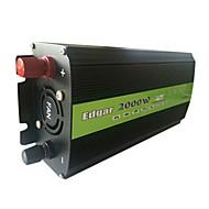 2000W køretøj sol inverter power converter transformer 48V til 220V med ventilator