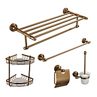 Bathroom Accessory Set ,5 Items in Classical Aluminum Bathroom Hardware Set