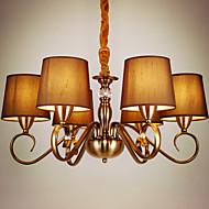 5 נברשות ,  סגנון חלוד/בקתה / וינטאג' Electroplated מאפיין for סגנון קטן מתכת חדר שינה / חדר אוכל / חדר ילדים