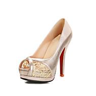 Women's / Girl's Spring / Summer / Fall Heels / Peep Toe / Platform Customized Materials Wedding / Dress / Party & Evening Stiletto Heel