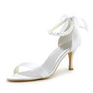Women's Wedding Shoes Heels / Peep Toe / Pointed Toe Sandals Wedding / Party & Evening / Dress White