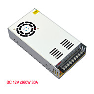 JIAWEN AC110V/ 220V to DC 12V 30A 360W Transformer Switching Power Supply