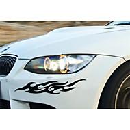 parede da janela do carro exuberância etiqueta do carro engraçado do carro decalque (2pçs)