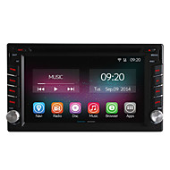6.2 Inch 2 Din In-Dash Car DVD Player for Nissan Universal with Quad Core CPU Pure Android 4.4 OS GPS Navigation Radio