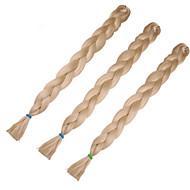 #27 Box Tranças Jumbo Extensões de cabelo 24inch Kanikalon 3 costa 80-100g/pcs grama Tranças de cabelo