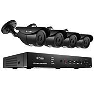 ZOSI® 8CH H.264 HDMI 960H DVR 4pcs 1000TVL Outdoor Night Vision 120ft CCTV Camera Security System