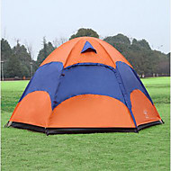Sheng yuan 5-8 persons Tent Double Fold Tent One Room Camping Tent 1500-2000 mm Breathability Anti-Insect Oversized-Hiking Camping-