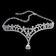 selge bruden pryder artikkelen koreansk dråper diamant frontal opptre i rollen som ekteskap brudekjole tilbehør