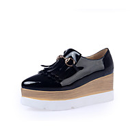 Women's Shoes Wedge Heel Wedges / Platform Heels Office & Career / Party & Evening / Dress Black / White
