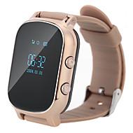 GPS 추적기 스마트 시계 전화 통화 SOS 노인 아이를위한 GSM 와이파이 + 파운드 손목 시계 지능형 모니터 알람을 팔찌